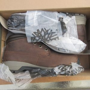 Mens Timberland Stratmore Mid Brown Boot SZ 11.5